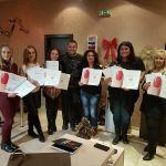 Дипломиране на курсисти по маникюр в Mony Nails Academy