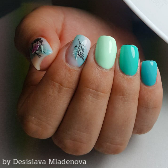 Поддръжка на гел Пловдив Mony Nails Studio
